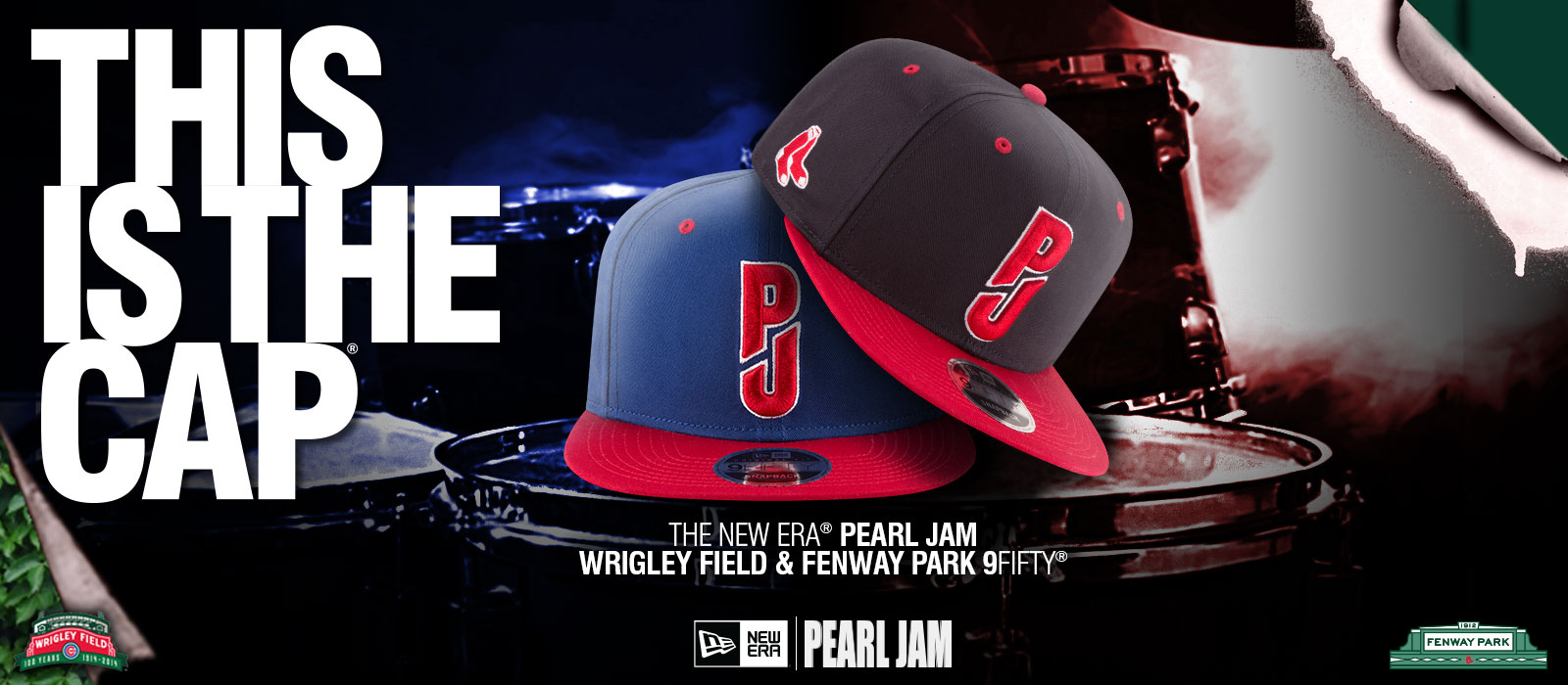 bf0a7d7eb43 Pearl Jam - Pearl Jam x New Era
