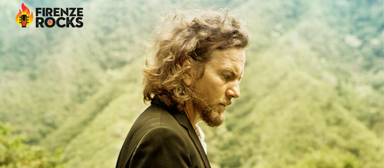 Pearl Jam - Eddie Vedder to Headline Firenze Rocks