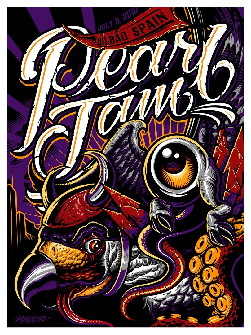 Pearl Jam - Bilbao Spain Bilbao - 2010
