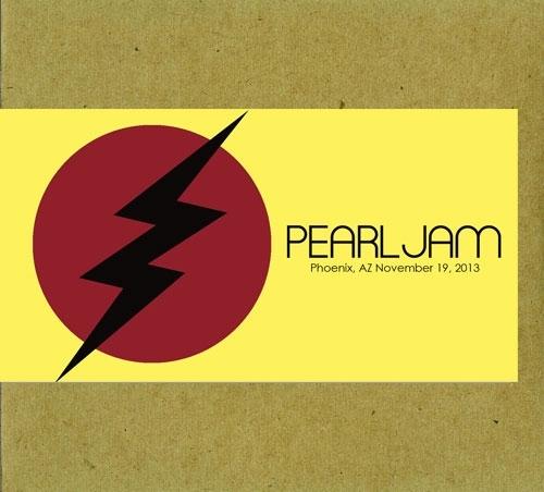 Pearl Jam Phoenix 11 19 2013 Bootleg Cd Shop
