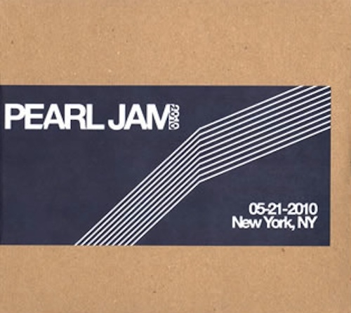 Pearl Jam - New York 5202010 Bootleg Cd - Shop