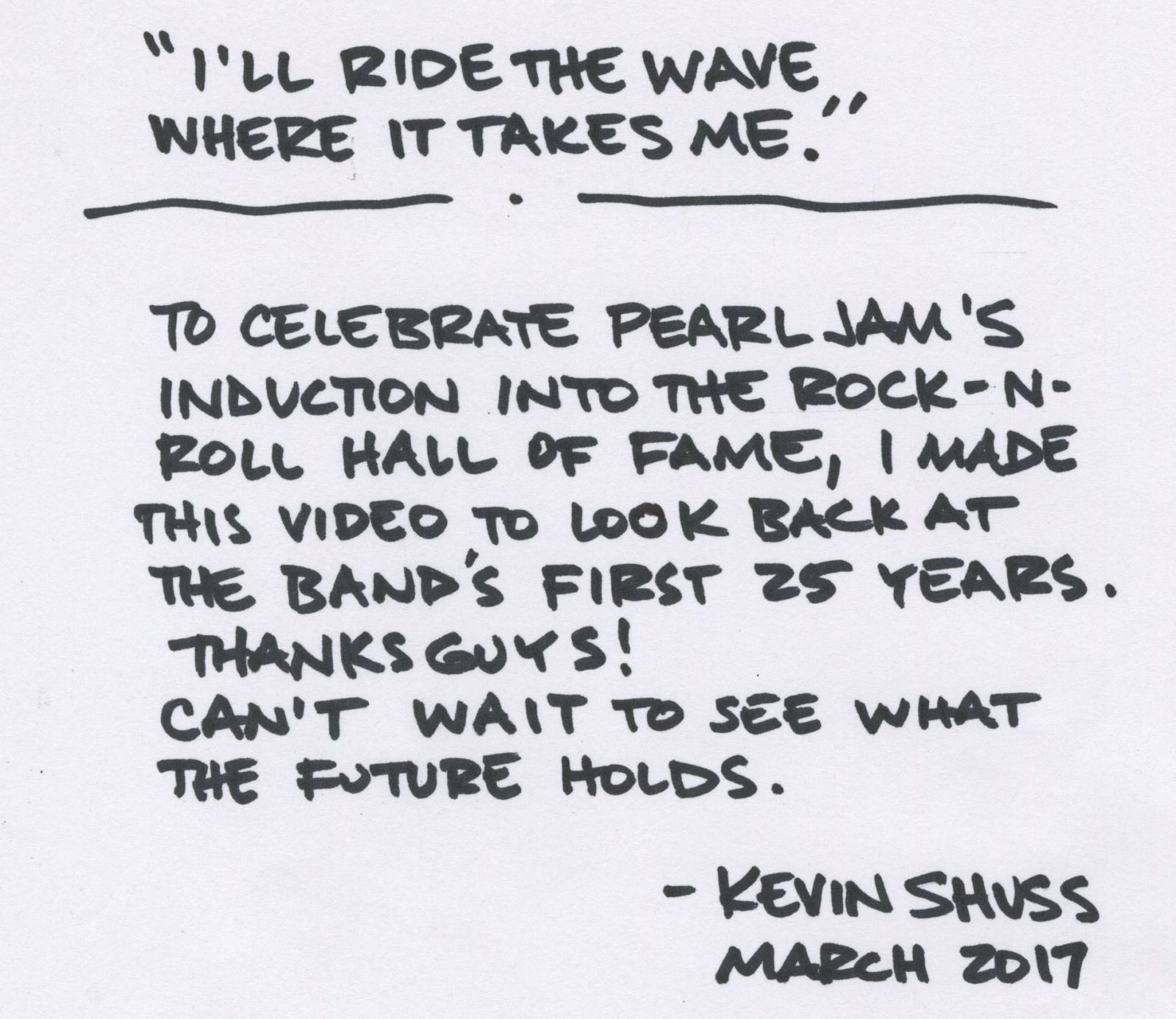 Pearl Jam - 25 Years 'Alive'